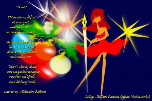 1001 Gedichten & Gedichtjes - Gedicht 'Kerst' door Poelka: www.1001gedichten.nl/gedichten/78407/kerst
