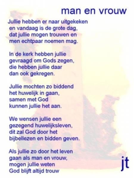 Super 1001 Gedichten & Gedichtjes - Gedicht 'man en vrouw' door Janneke &NX26