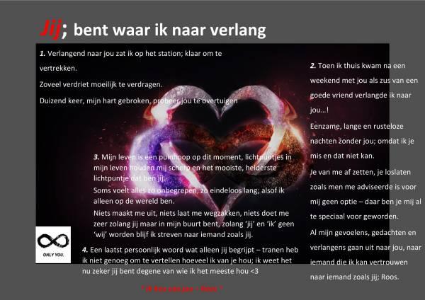 Bedwelming 1001 Gedichten & Gedichtjes - Gedicht 'Lieve Rozemarijn' door Jan E. #OM45
