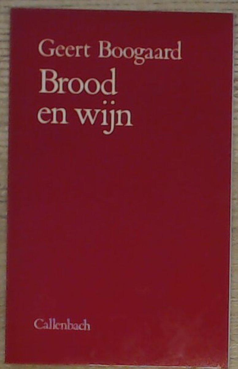 Brood En Wijn En Meer Gedichtenbundels