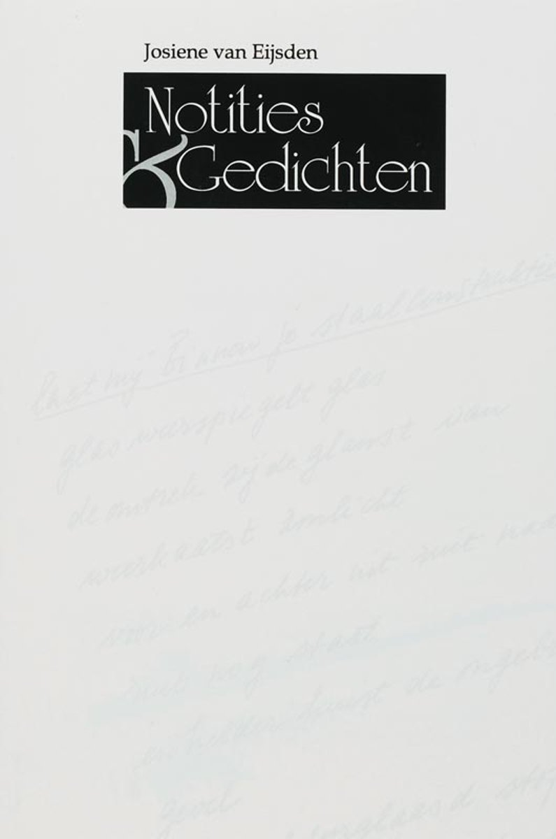 Notities en gedichten